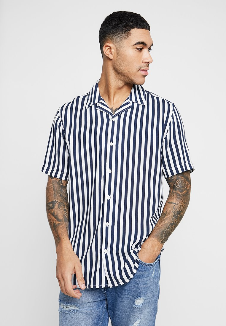 Only & Sons - ONSWAYNE STRIPED - Camicia - dress blues