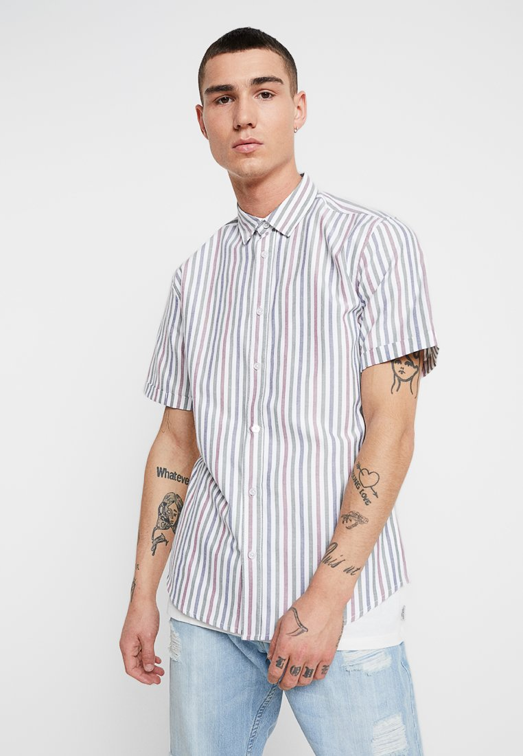 Only & Sons - ONSTRAVIS STRIPED - Hemd - cloud gray