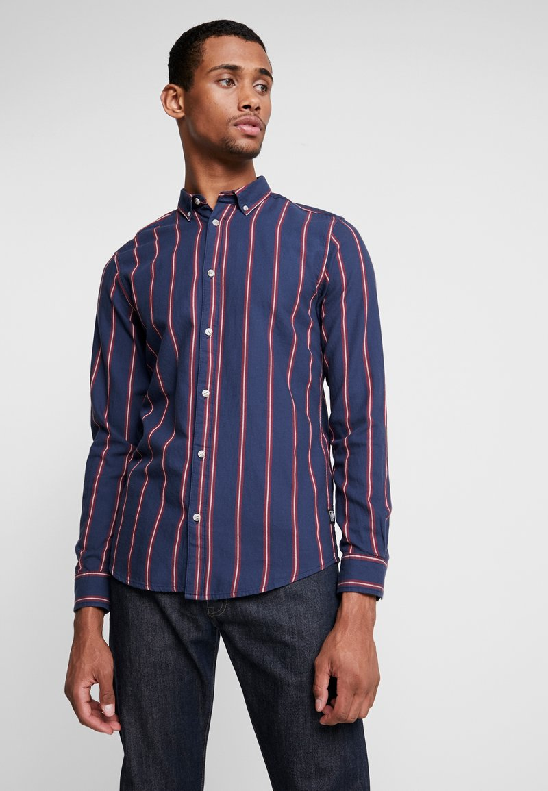 Only & Sons - ONSOXLEY STRIPED - Camisa - aura orange