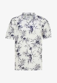 Only & Sons - ONSPANAMA - T-shirt med print - white/black - 3