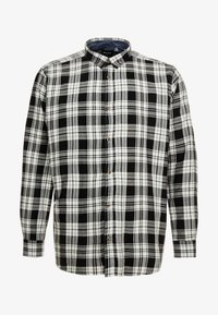 Only & Sons - ONSOMAR CHECKED HERRINGBONE - Košile - cloud dancer - 3
