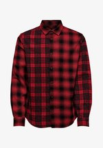 ONSOZEAN MIXED CHECKED REGULAR SHIRT - Shirt - light red