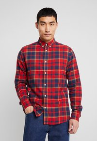 Only & Sons - ONSODAN CHECKED SLIM FIT - Koszula - pompeian red - 0