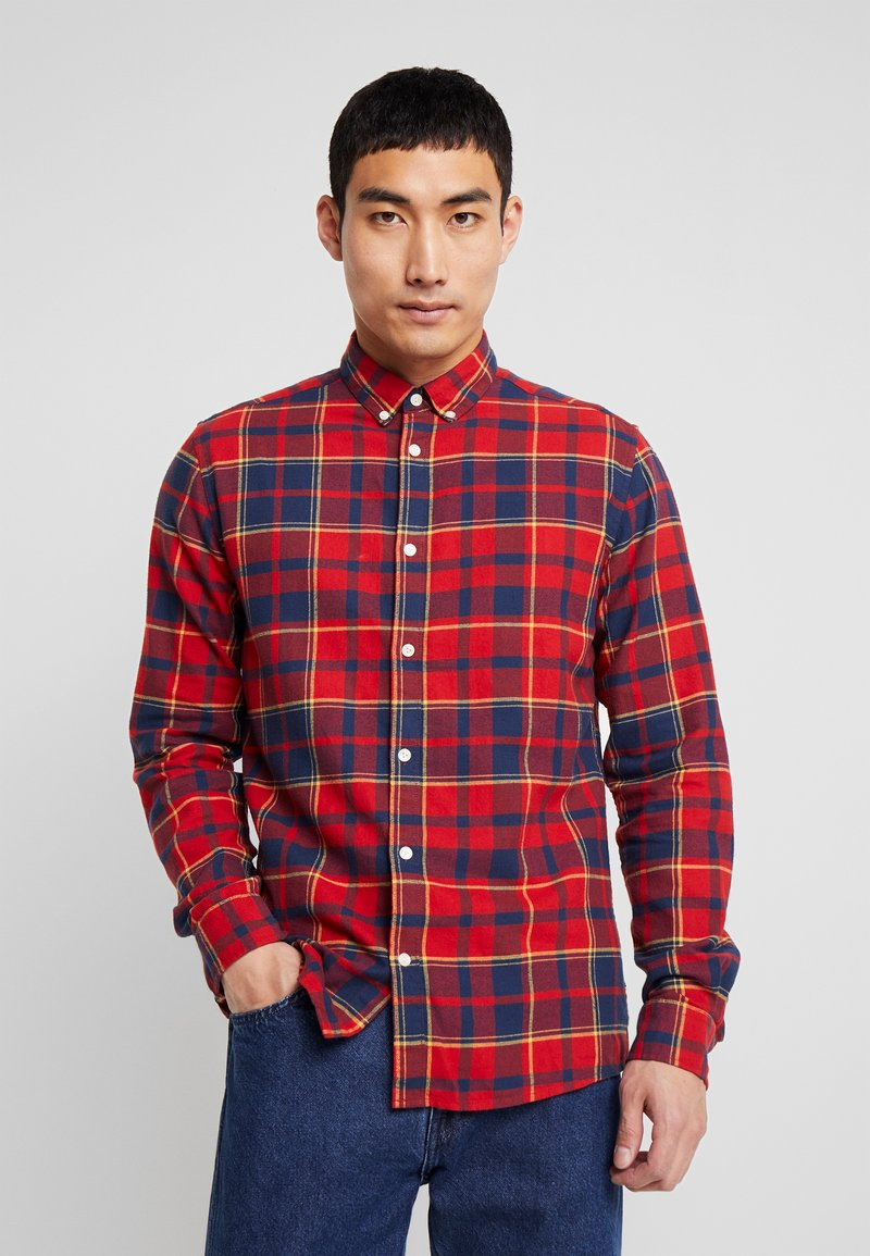Only & Sons - ONSODAN CHECKED SLIM FIT - Koszula - pompeian red