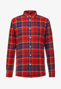 Only & Sons - ONSODAN CHECKED SLIM FIT - Koszula - pompeian red - 4