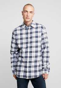 Only & Sons - ONS CHECK SHIRT - Shirt - white - 0