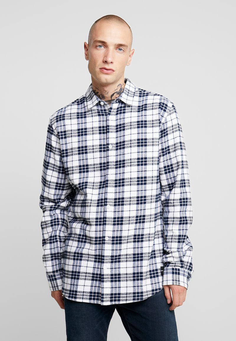 Only & Sons - ONS CHECK SHIRT - Shirt - white