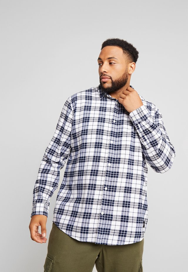 ONSFLANNEL CHECK - Shirt - white