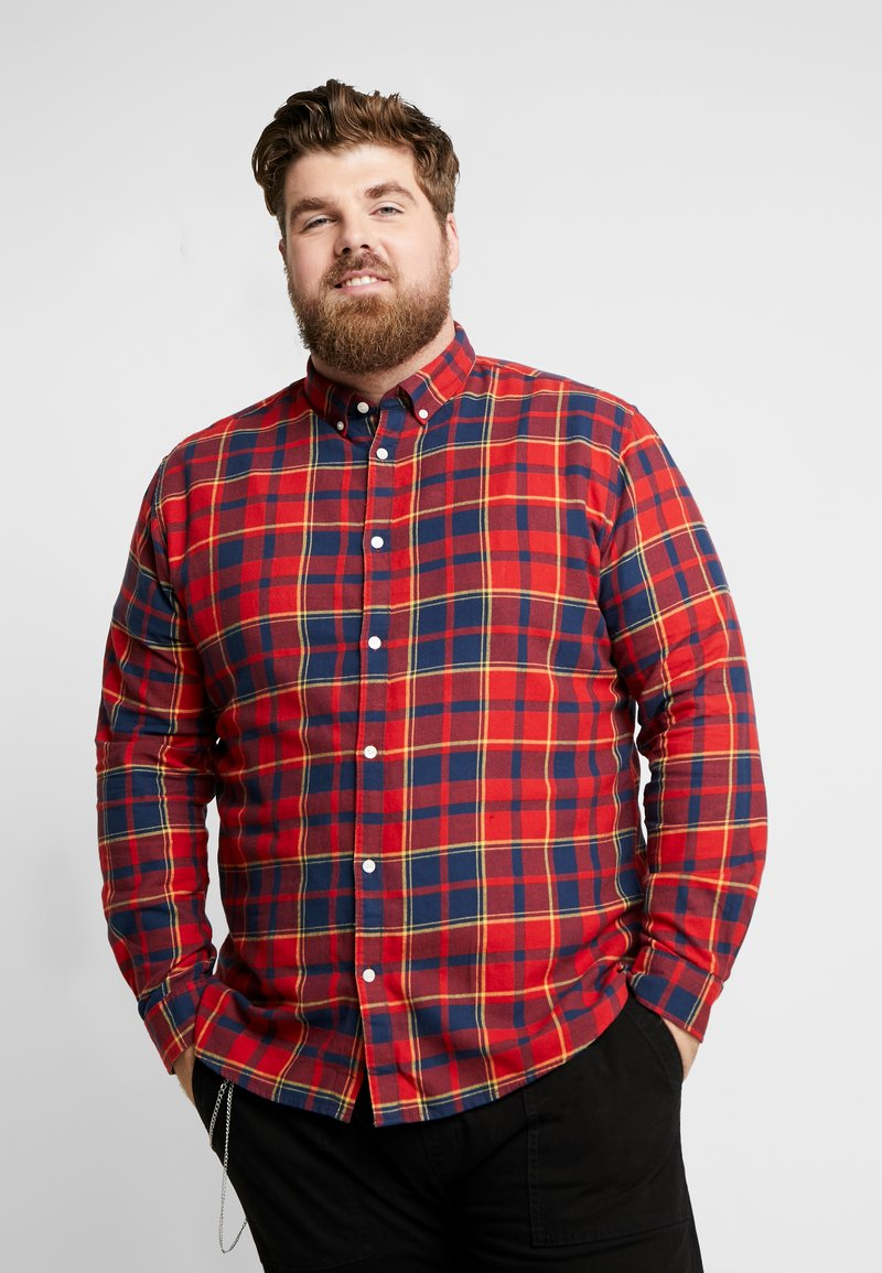 Only & Sons - ONSODAN BUTTON DOWN - Shirt - pompeian red