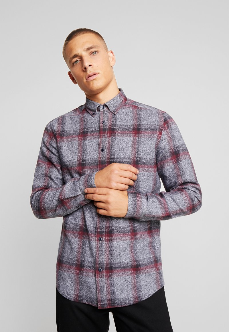 Only & Sons - ONSGORAN BRUSHED REGULAR FIT - Skjorte - zinfandel