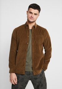 Only & Sons - ONSGEORG SOLID REGULAR FIT - Chemise - kangaroo - 0
