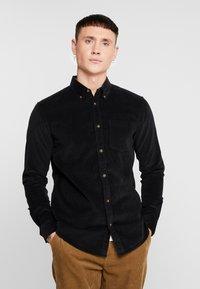 Only & Sons - ONSGEORG SOLID REGULAR FIT - Camisa - black - 0