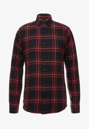 ONSOTHAN CHECK SHIRT  SLIM FIT - Chemise - pompeian red
