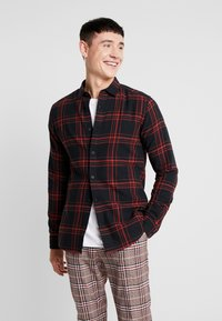 Only & Sons - ONSOTHAN CHECK SHIRT  SLIM FIT - Hemd - pompeian red - 0