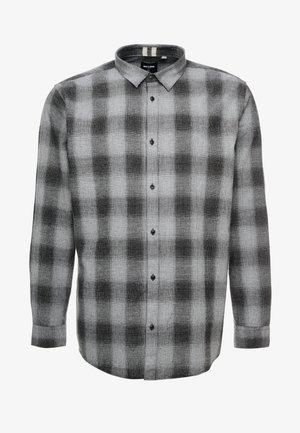 ONSEWAN SHADOW CHECK SLIM - Shirt - medium grey melange