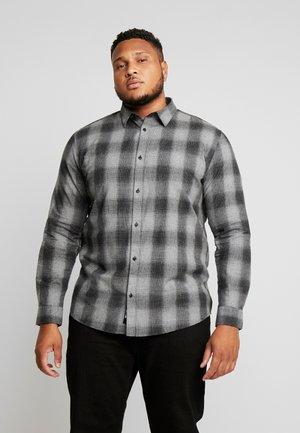 ONSEWAN SHADOW CHECK SLIM - Skjorte - medium grey melange