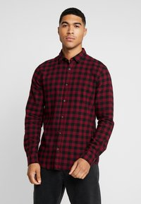 Only & Sons - ONSGUDMUND SMALL CHECK - Camisa - cabernet - 0