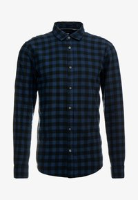 Only & Sons - ONSGUDMUND SMALL CHECK - Shirt - dress blues - 5