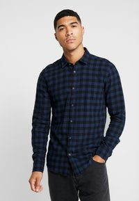 Only & Sons - ONSGUDMUND SMALL CHECK - Shirt - dress blues - 0
