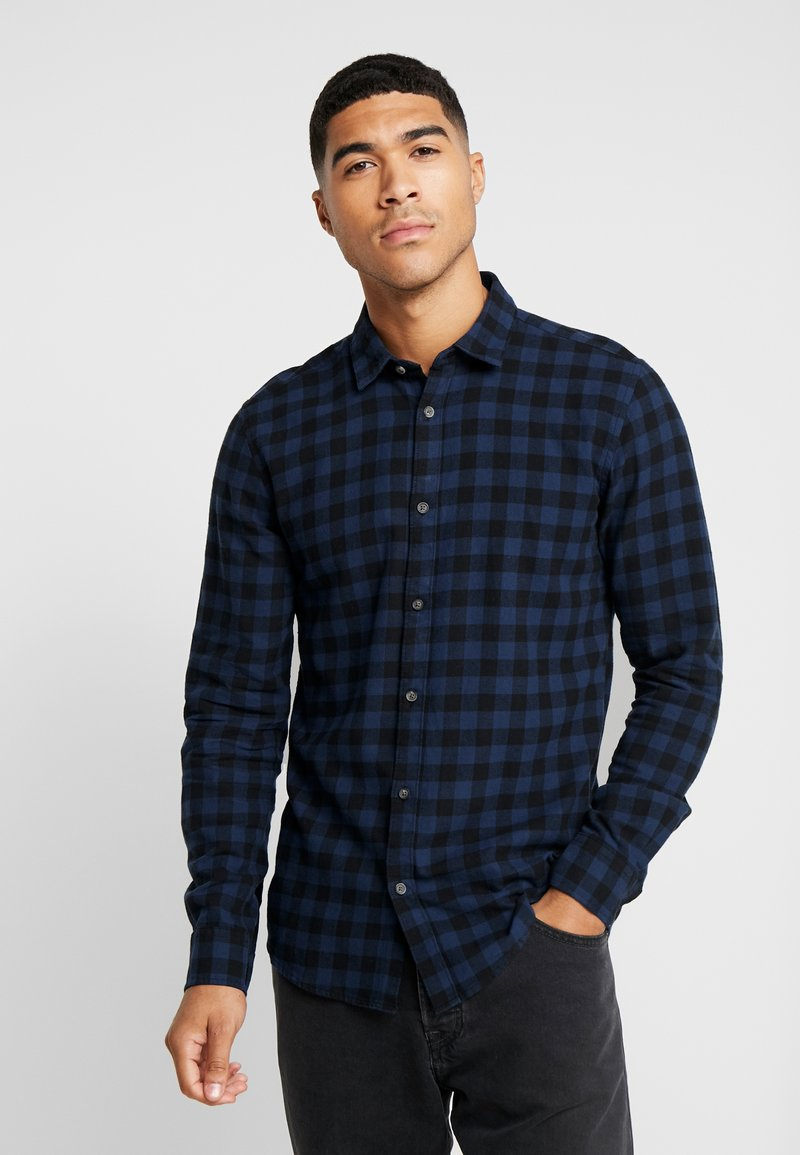 Only & Sons - ONSGUDMUND SMALL CHECK - Shirt - dress blues