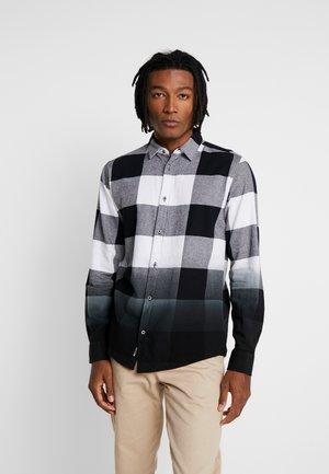 ONSFREDDY LS DIP DYE CHECKED  - Camisa - black