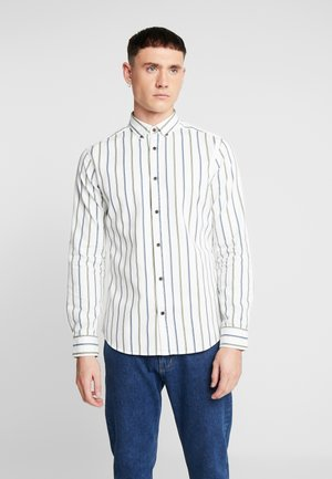 ONSFINN STRIPED ACID WASHED - Camisa - cloud dancer