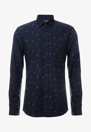 ONSFLOW DITSY SLIM FIT - Shirt - dark navy