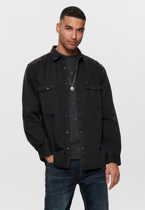 TWILL - Skjorter - black