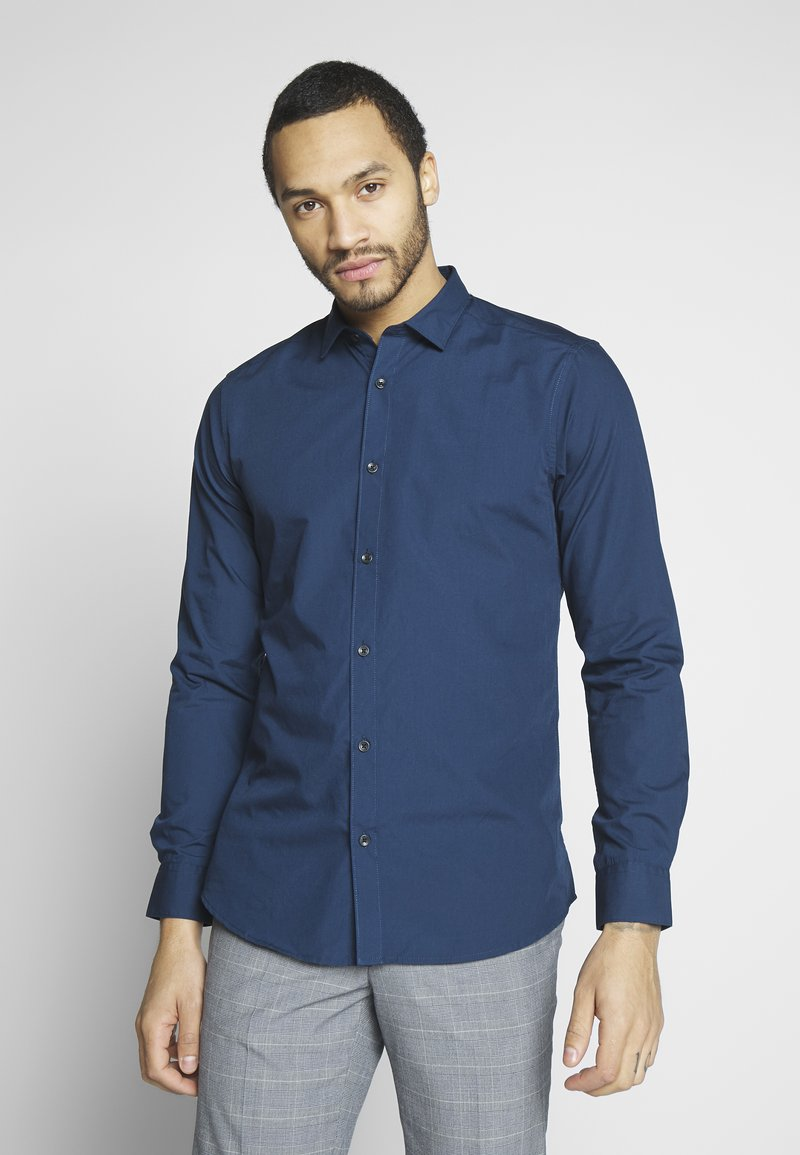 Only & Sons - ONSSANE SOLID POPLIN - Chemise - dress blues