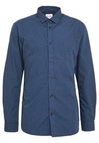 Only & Sons - ONSSANE DITSY POPLIN SHIRT SLIM FIT - Overhemd - dress blues - 0
