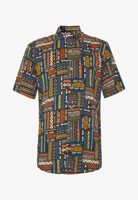 Only & Sons - ONSAARON AZTEC - Shirt - gold flame - 4