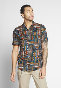 Only & Sons - ONSAARON AZTEC - Shirt - gold flame - 0