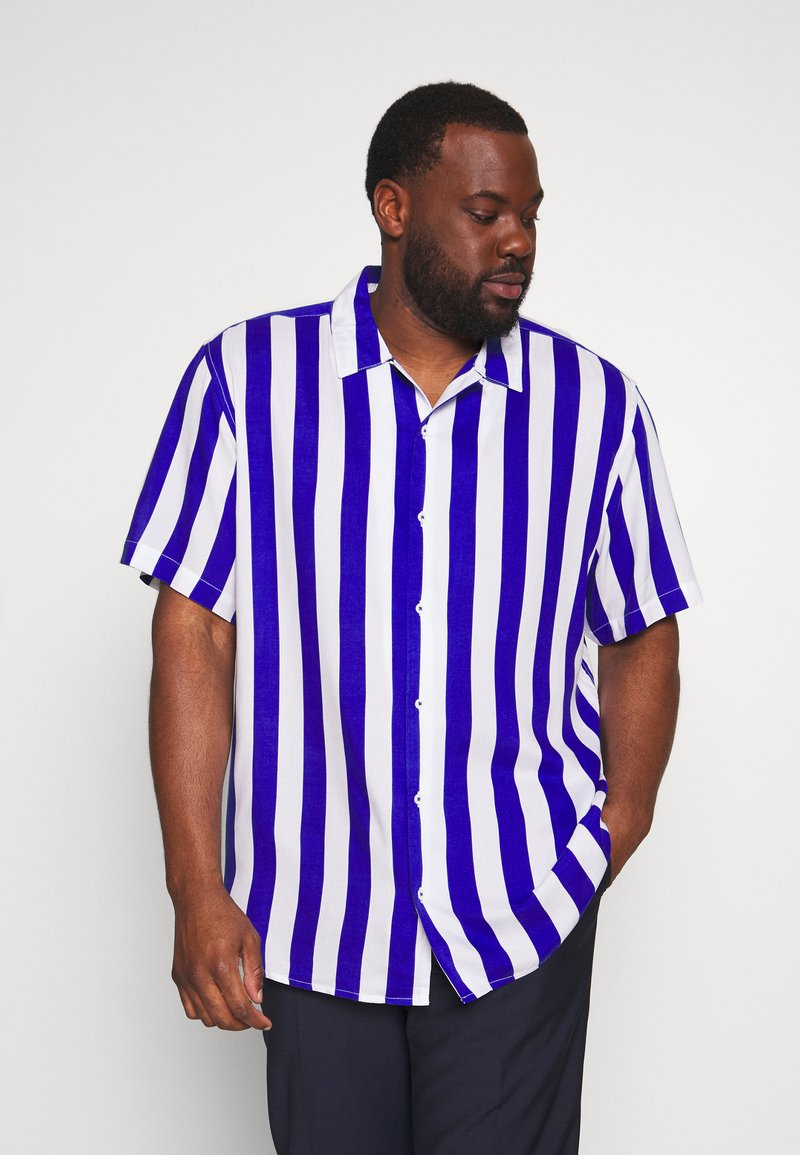 Only & Sons - ONSCARTER STRIPED  - Shirt - clematis blue