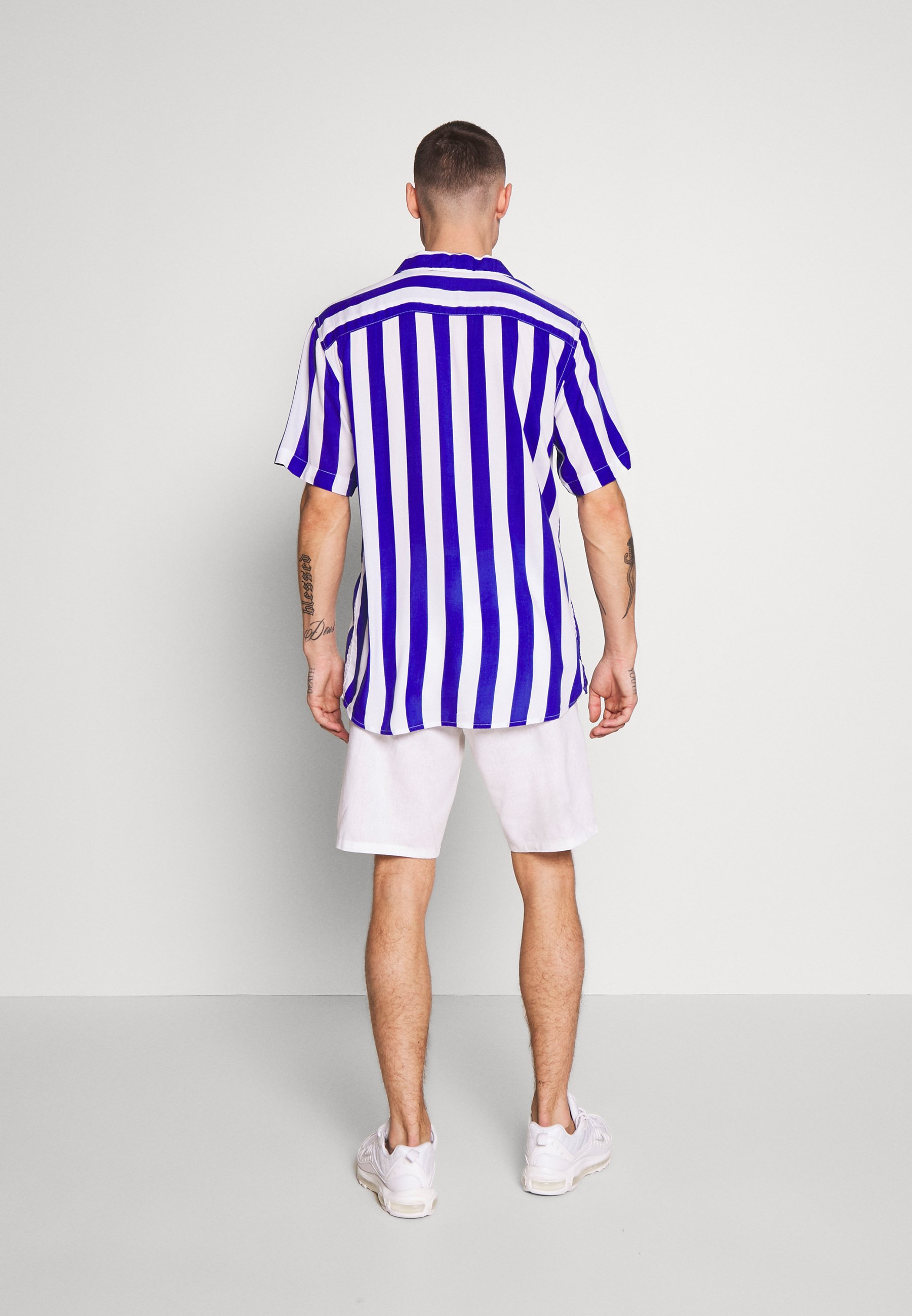 Only & Sons ONSCARTER STRIPED - Camicia - clematis blue