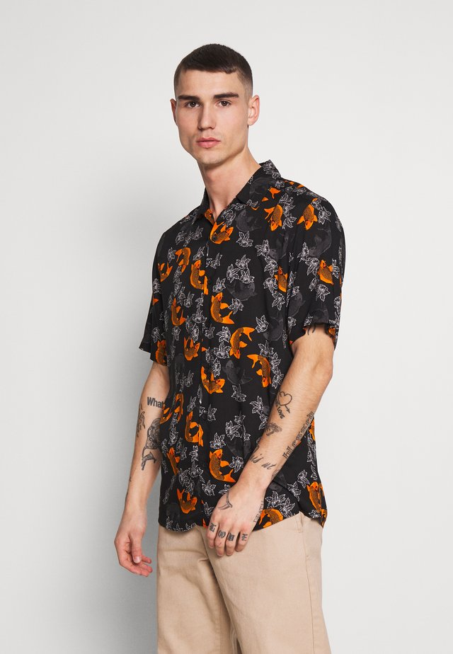 ONSGABRIAL ANIMAL  - Camisa - black/fish