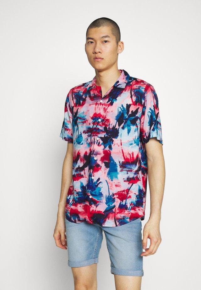 ONSOLIVER PRINTED  - Shirt - dark blue