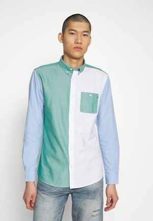 ONSNATHAN MIXED OXFORD SHIRT - Košile - white