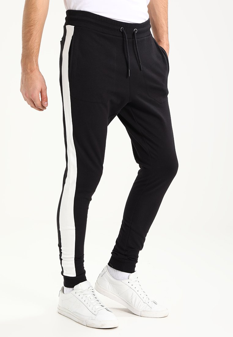 Only & Sons - ONSFARRELL - Tracksuit bottoms - black