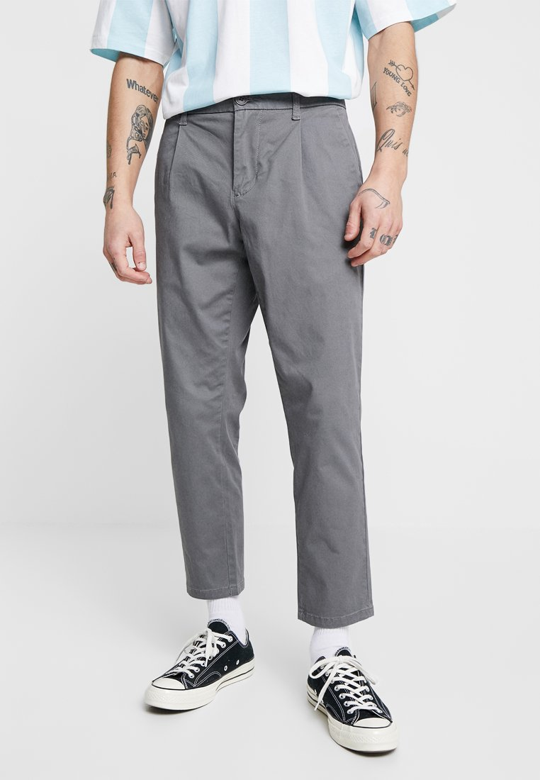 Only & Sons - ONSCAM CROPPED - Trousers - castlerock