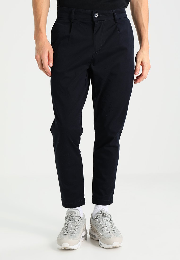 Only & Sons - ONSCAM CROPPED - Stoffhose - dark navy