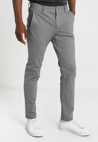 Only & Sons - ONSMARK PANT - Trousers - medium grey melange - 0