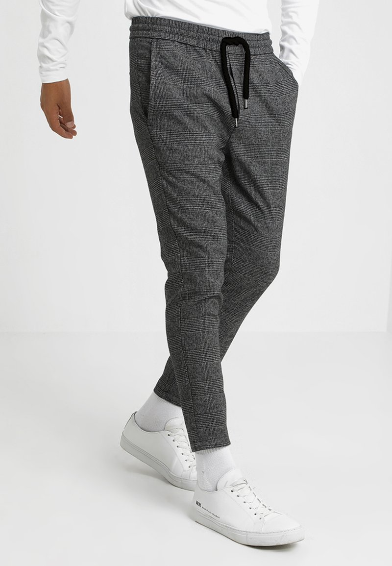 Only & Sons - ONSLINUS PANT - Stoffhose - medium grey melange