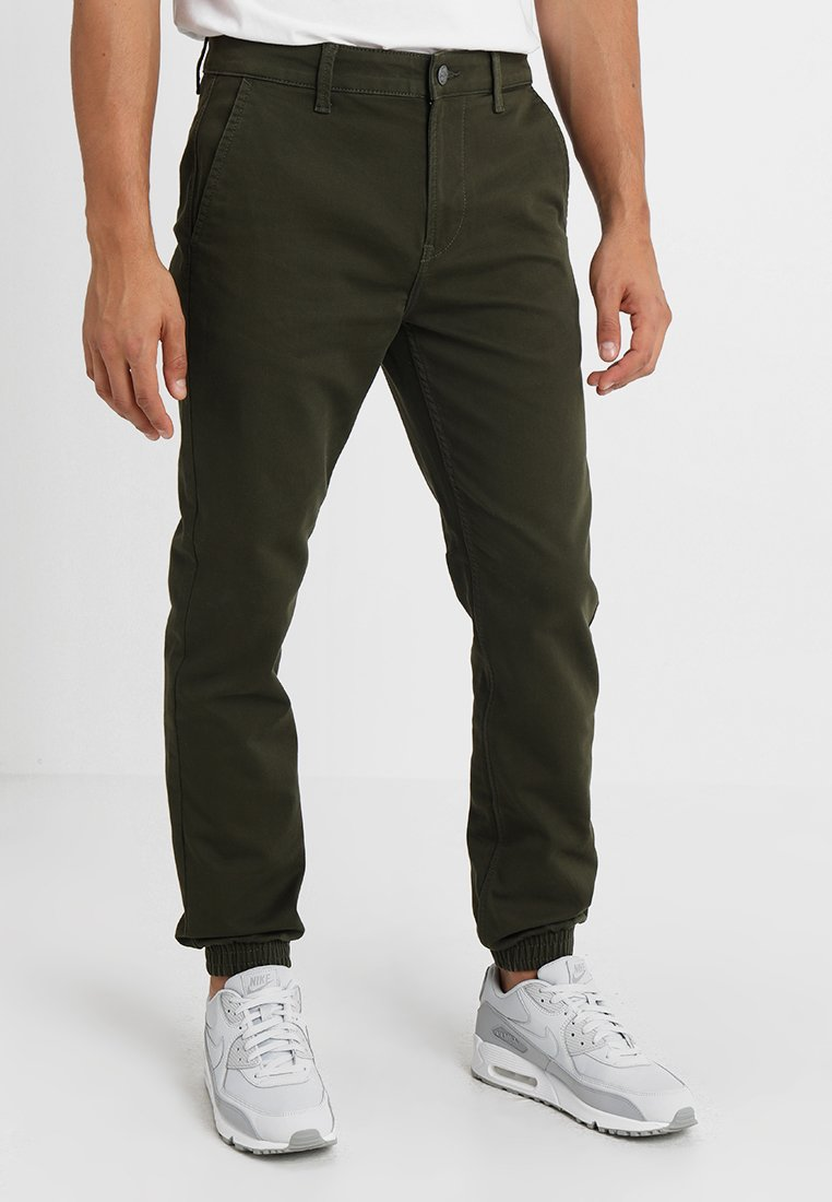Only & Sons - ONSAGED - Stoffhose - forest night