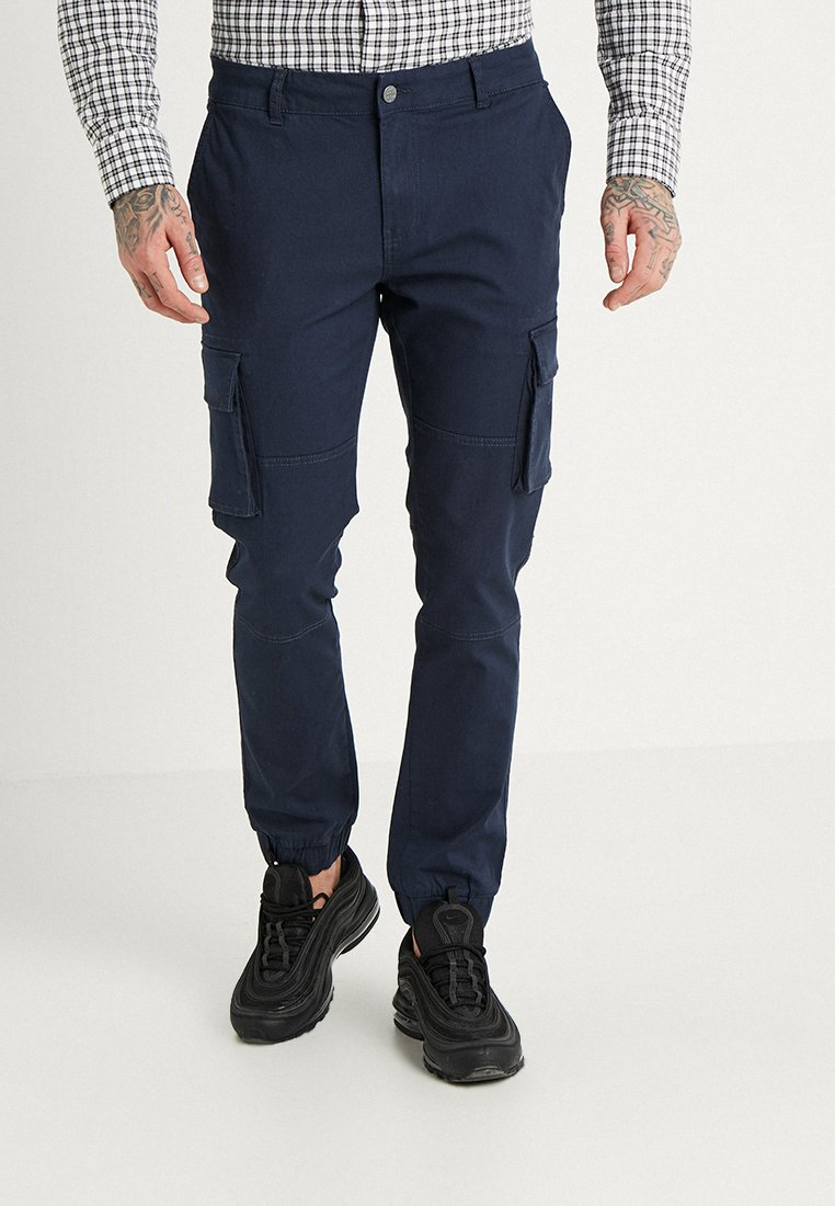 Only & Sons - ONSSTAGE CUFF - Cargohose - dress blues