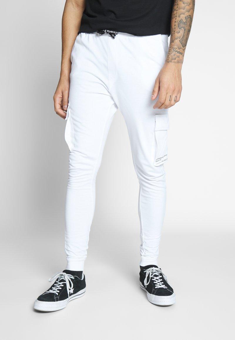 Only & Sons - ONSWF KENDRICK - Teplákové kalhoty - white