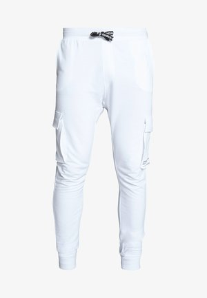 ONSWF KENDRICK - Tracksuit bottoms - white