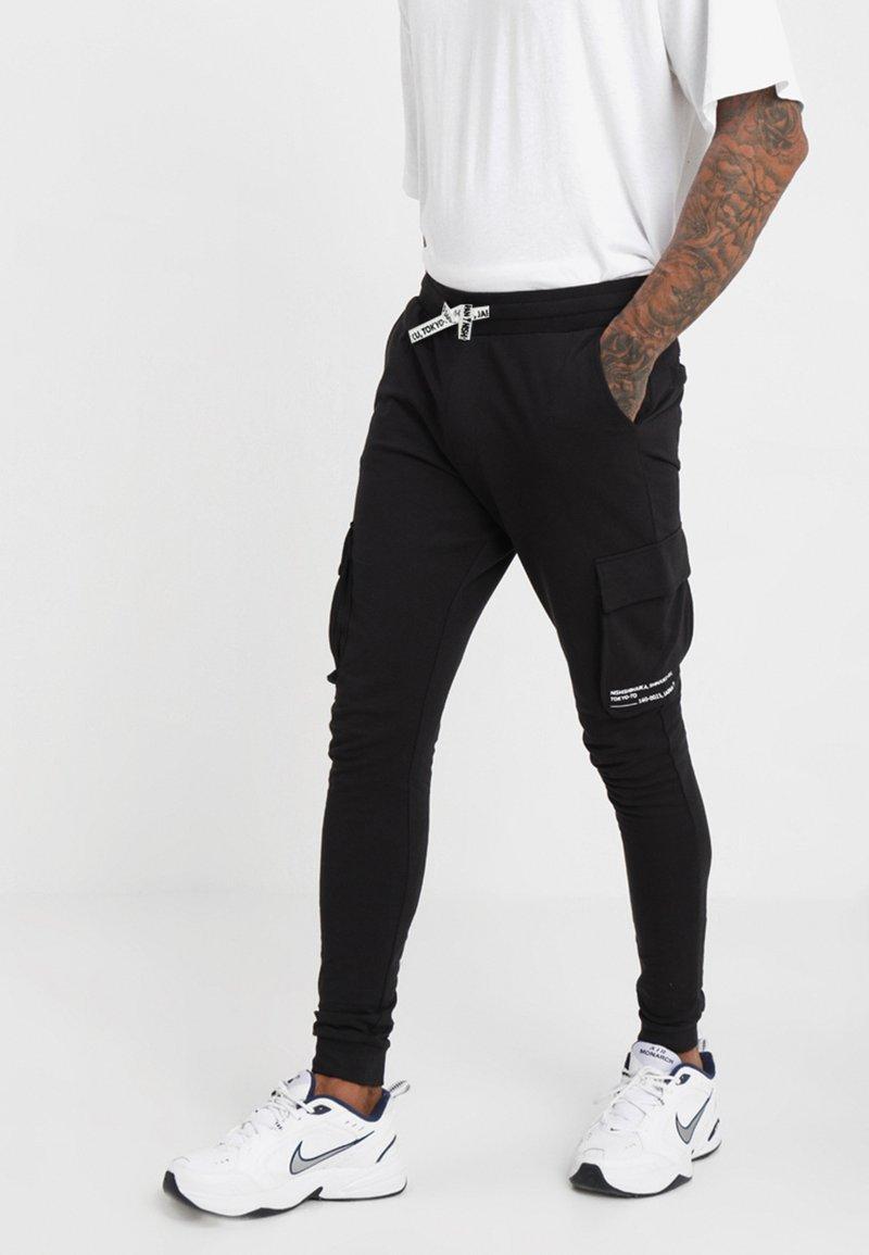 Only & Sons - ONSWF KENDRICK - Pantalon de survêtement - black