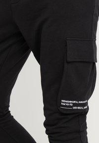 Only & Sons - ONSWF KENDRICK - Pantalon de survêtement - black - 3