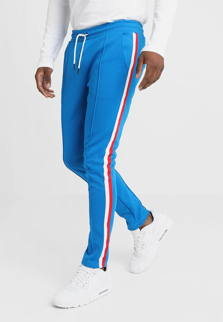 Only & Sons - ONSWILLIAM STRIPED NORMAL PANTS - Trainingsbroek - imperial blue