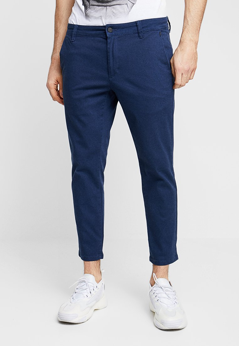 Only & Sons - ONSMARK TIM CROP - Chino - dress blue